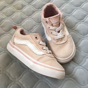 Vans Toddler Light Pink Ward Sneakers